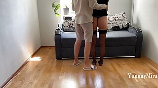 Hot fuck: Spanked Her Ass, Pussy Fucked and cum in mouth