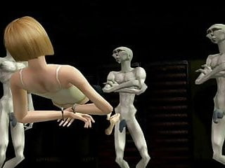 Alien sex scenes Sims2 porn alien sex slave part 2