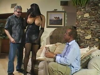 Boxers breast size after in heat - Big tits ebony in heat, goes after a hard cock