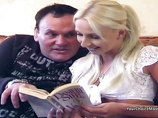 Fat dick movies - Homemade porn movies sees fat guy giving thin blonde anal