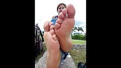 Karima french arab sexy toes