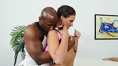Cheating MILF Takes BBC With Husband Watching