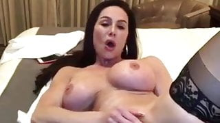 Kendra Lust playing with dildo and destroy asshole