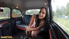 Fake Taxi Tattoo teen Jennifer Mendez fucked hard by cabbie