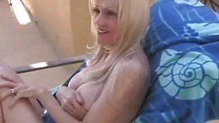 Sexy Granny Sucks Cock So Well