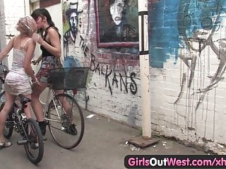 Lick out hairy pussy Girls out west - hairy lesbian beavers licked and rubbed