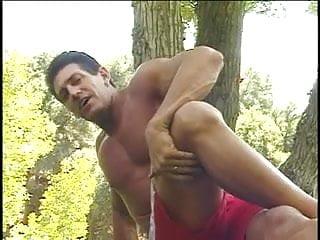 Scott bikini Horny brunette banged by scott outdoors