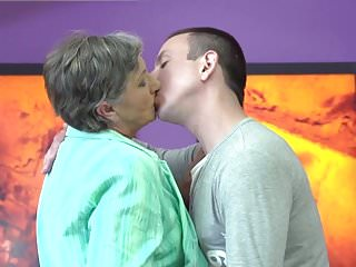 Old cock young cunt Granny gets young cock in hairy old cunt