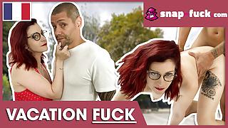 Flora enjoys dirty fuck date with a stranger! Snap-fuck.com