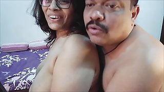 Mallu Couple sex on webcam