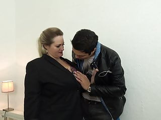 Mother and sons freind sex Taboo sex with busty mature mothers and sons