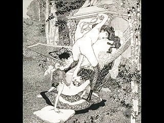 Holiday erotic art Erotic art of franz von bayros