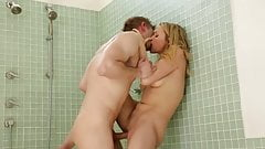 Mia Malkova fucked in the shower by brother