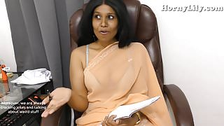 Indian Tutor seduces young boy, pov role-play in Hindi