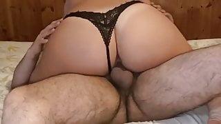Stepsister Rides my Dick