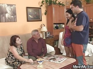 Video of parents seducing teens She is seduced by his old parents