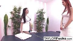 Taylor gives a massage
