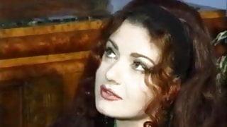 Hairy Italian seduce a priest to fuck her ass