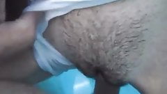 Wife is fucked by Husband's friend in the pool