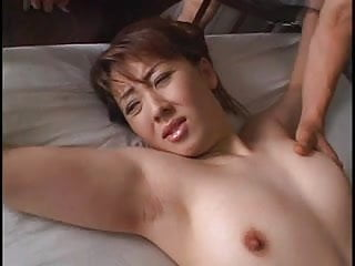 Woman in texs for sex Asian tied woman in panty gets played with