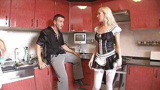 Big Ass Latina Maid gets the Big Dick of Landlord Anal Hard