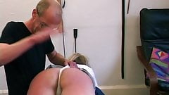 Plump Mature BBW Wife Spanked - Amateur Homemade Spanking