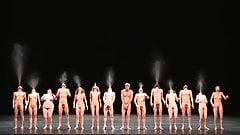 snr art naked dance show 3