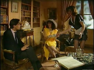 Vintage French Orgy Group Sex Hardcore In The Palace Film