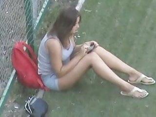 Hidden camera russian teen - Hidden camera russian girl beautiful legs