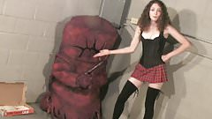 La Vore Girl's New Pet Monster! PLUS! La Vore Girl Captured!