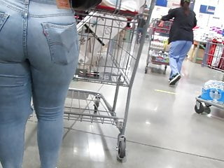 Sexy fat ass asian tubes Sexy fat ass pawg in tight jeans shopping