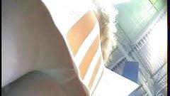 Nice girls white pantyhose upskirts MD