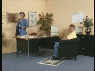 Students getting fucked by the principal - Visiting the principal leads to fucking milf in stockings