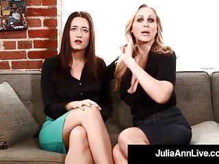 Female submitted masturbation videos Femdom milf julia ann kimberly kane make you submit sissy