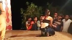 Garota sexy dança pública bhojpuri