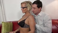 Hot milf and her younger lover 258