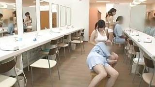 Azusa Nagasawa in Sauna Lady Occupation Part 4