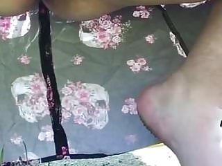 Pee pee in the potty Public upskirt bbw pee in the morning at local trailerpark 1