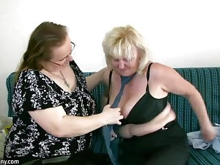 Grannys big boobs Oldnanny mature with big boobs masturbate with chubby granny