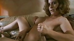 Casual Handjob On The Couch