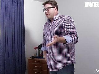 Hot ffm bisexual stories Amateureuro -ursula g. dominique b. shares cock in hot ffm