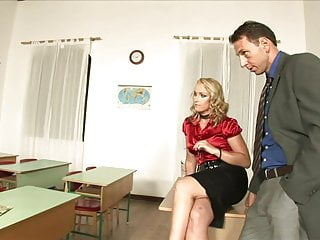 Methods for teaching adult students with dyslexia Big tits milf teacher teaches the new young teen student