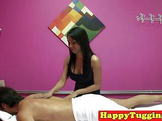 Hidden cam asian masseuse Busty asian masseuse on spycam wanking cock