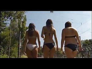 Candid latina teen - Candid latina bikini teens