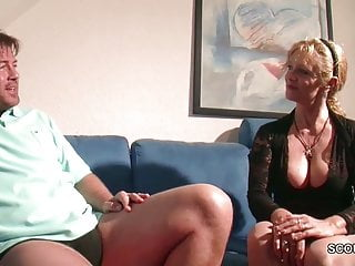 Mother showing son tits Big tit milf not mother seduce to fuck by big dick step-son