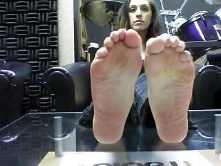 Foot model nude - Bare foot foot model jc