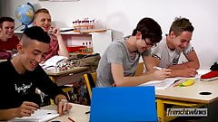 Slutty High School Boys Doryann Marguet & Jonathan Garnier