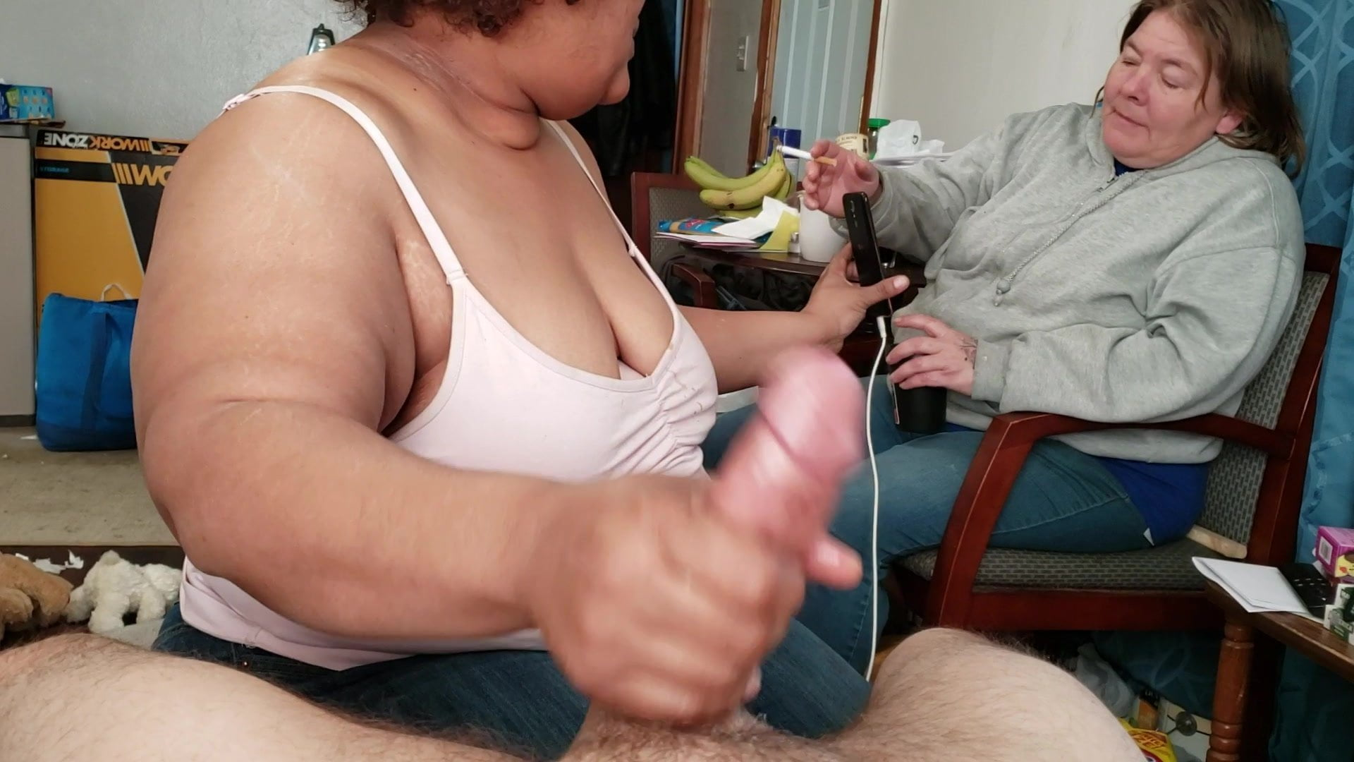 Girl Watches Guy Jerk Off