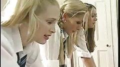 English schoolgirls are punished