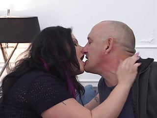 Cock in mouth gay Chubby mom gets mature cock in mouth and pussy